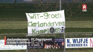 Samenvatting Aarlanderveen - FC Oegstgeest (zaterdag 13 april)