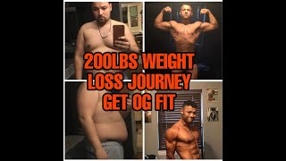 My 200LBS WEIGHT LOSS JOURNEY