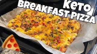 Fat Head Breakfast Pizza | Keto & Low Carb Friendly | SO DELICIOUS!