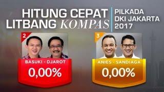 Hitung Cepat Pilkada DKI Jakarta Putaran II (realtime)