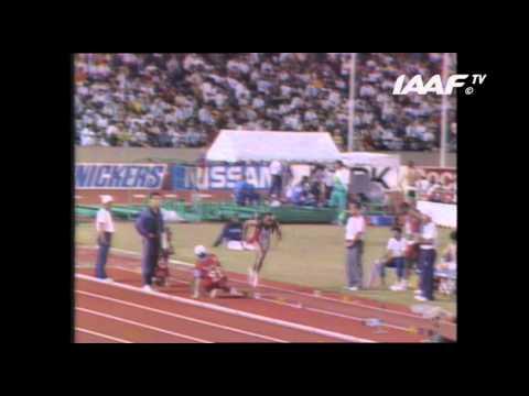 World Record - Long Jump Men Final Tokyo 1991