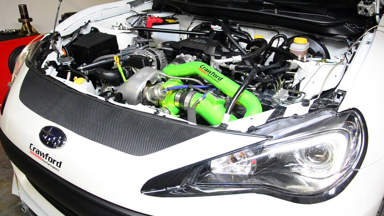 Crawford Performance Subaru BRZ Turbo Kit Dyno - YouTube