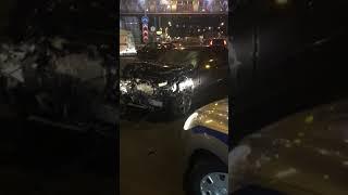 Смотреть видео Авария новая Москва онлайн