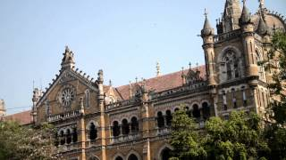 Mumbai Bombay India Chhatrapati Shivaji Victoria Terminus