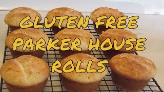 Parker House Rolls -- Gluten Free