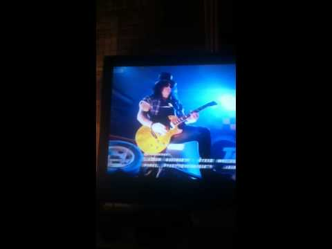 Slash Playing Top Gear Theme Song