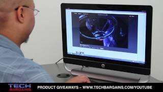 HP Envy 23 TouchSmart All in One Desktop Video Review (HD)