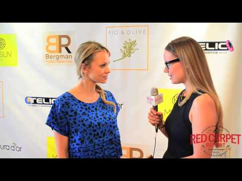 Marnette Patterson at Doris Bergman's 7th Annual Oscar Style Lounge BergmanOscars GiftSuite