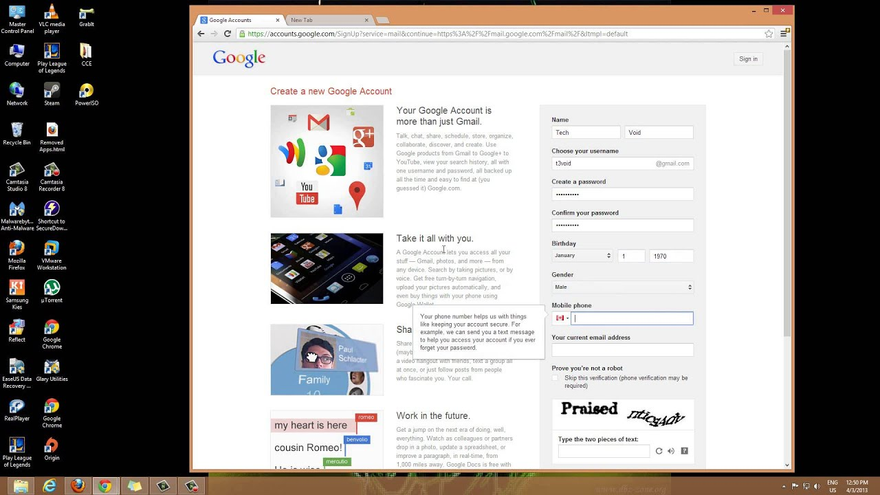 How to make a Gmail Account - YouTube - photo#20