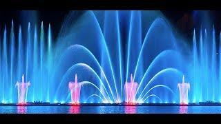 Винницкий фонтан Roshen 2017 г. Новая программа. Лазерное шоу