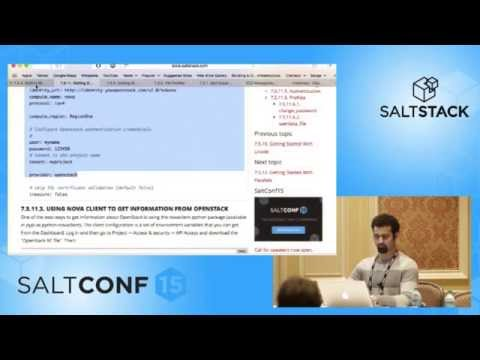 SaltConf15 - Nitin Madhok, Clemson University - SaltStack Orchestration for AWS & OpenStack Infra