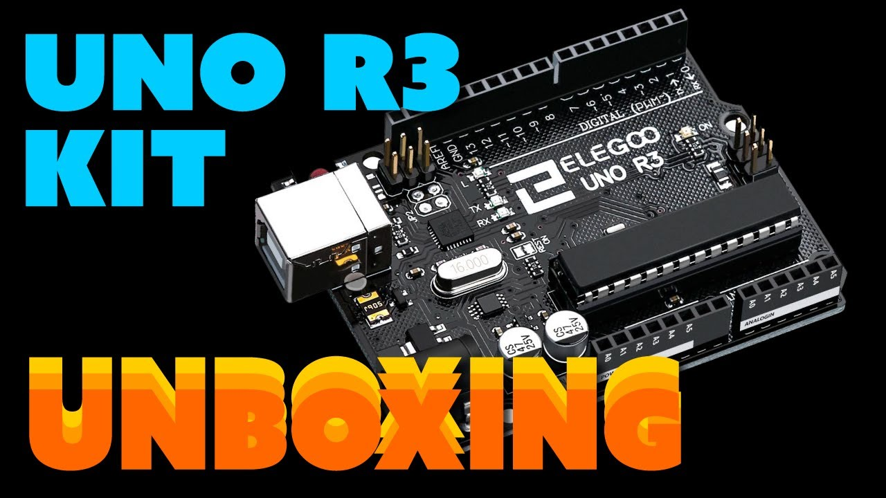 Elegoo Uno R3 Project Unboxing
