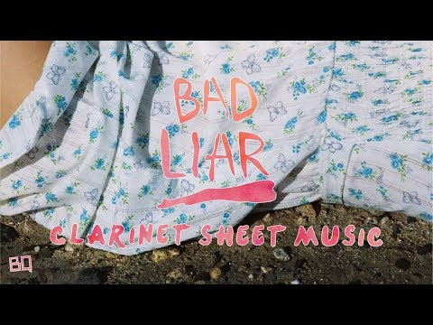 Bad Liar - Selena Gomez (Clarinet Sheet Music)