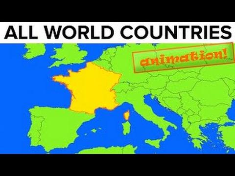 All World Countries  Map  Flag  Capital City  Pronunciation