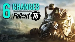 Fallout 76 Changes You Should Know! | The Leaderboard