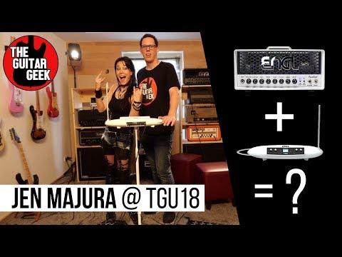 #TGU18 - Theremin + Engl Guitar amp with Jen Majura
