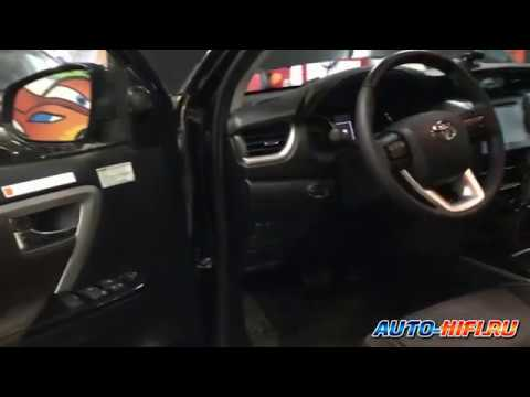 Полная шумоизоляция Toyota Fortuner второго поколения