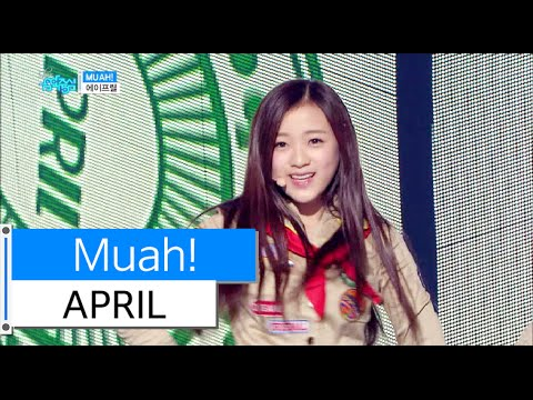 [HOT] APRIL - Muah!, 에이프릴 - 무아!, Show Music core 20151212