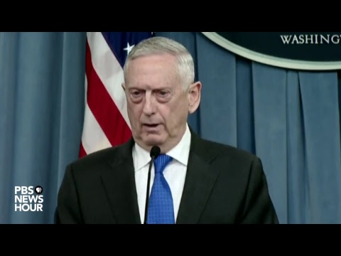WATCH LIVE: Defense Secretary Mattis and Chairman of the Joi