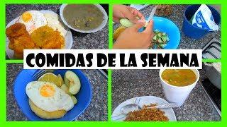 COMIDAS DE LA SEMANA/LOS ROLES DE EDY