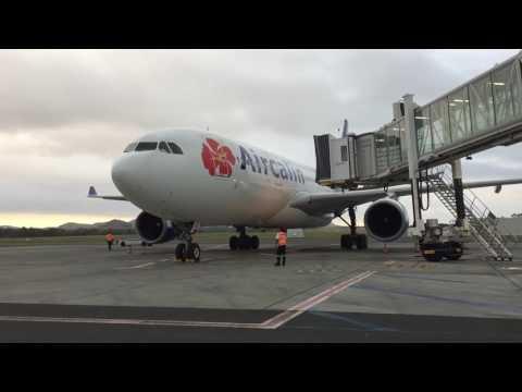 Taxiing To Gate Nouméa la Tontouta Aircalin A330-200