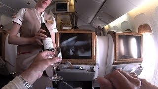 NICE BANGKOK via DUBAI EK77 EK384  B777-300ER / A380 EMIRATES BUSINESS CLASS 270314