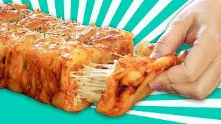 Zupfbrot selber machen - ein Rezept mit Käse und Hühnchen