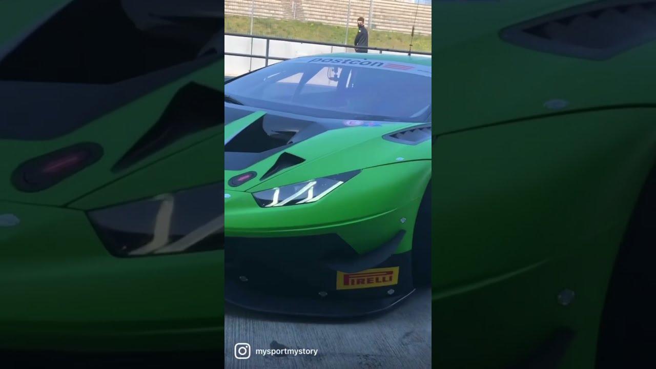 MOTOR TV22: Die Lamborghinis vom Grasser Racing Team bei der ADAC GT Masters #shorts