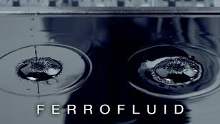 Cymatics: Ferrofluid