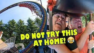 Riding the INSANE Ring of Fire ride at Wild Waves in Seattle! Onride 4K POV!