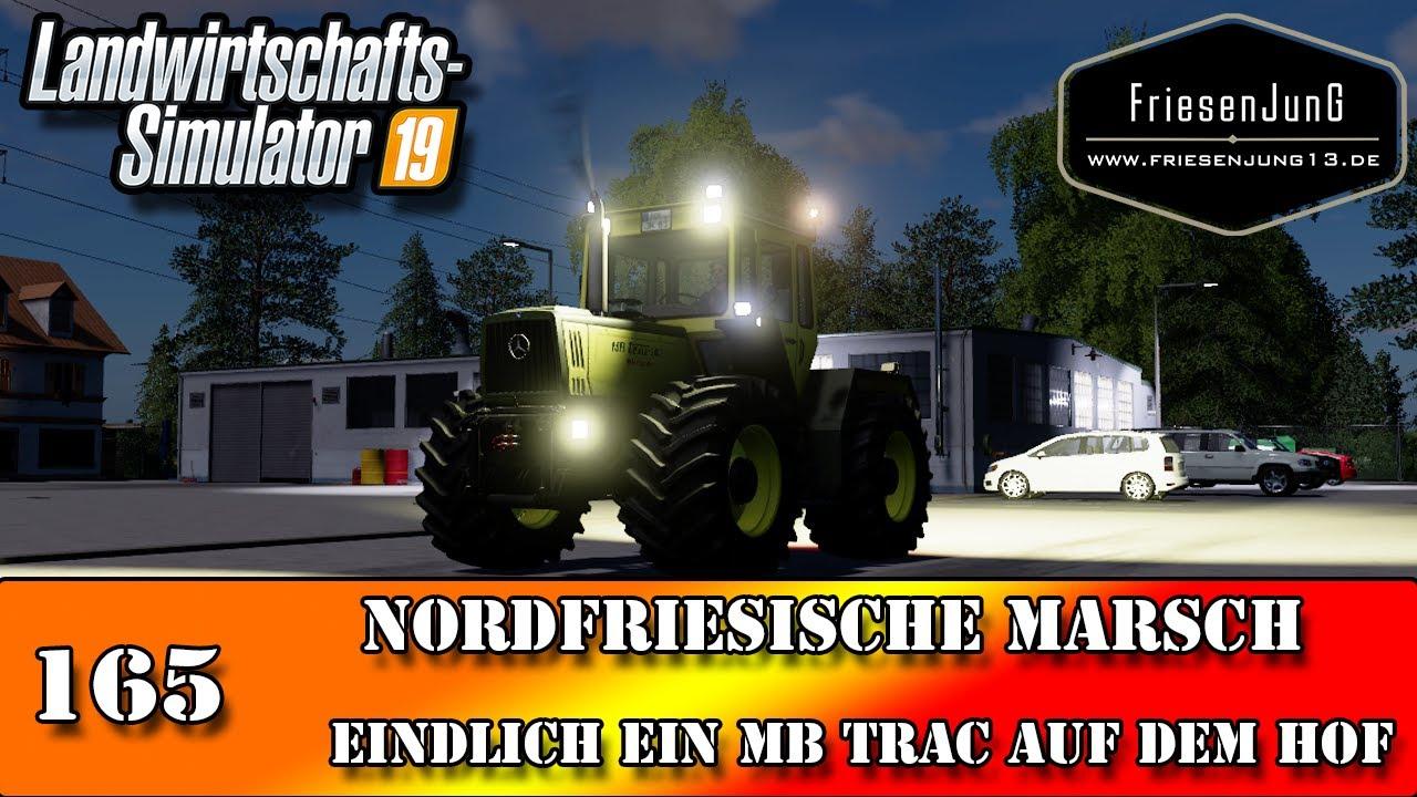 LS19 Nordfriesische Marsch 165 - Endlich ein MB Trac auf dem Hof