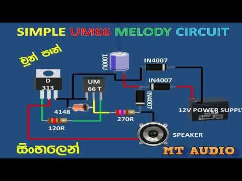 UM66 Melody circuit-CHUN PAN -SINHALA