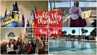 Disney World Weekly Vlog December 2017 | Christmas and New Year!