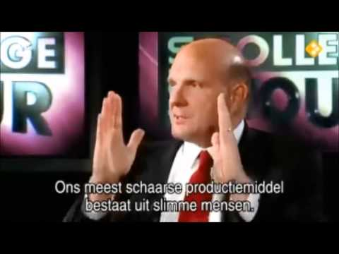 Microsoft vs Apple - Steve Ballmer interview