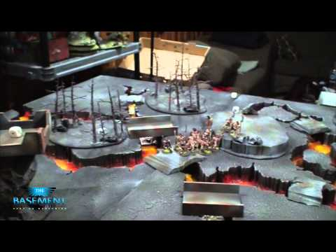 TBMC - Age of Sigmar Video Battle Report (Batrep) - Tomb Kings vs Empire