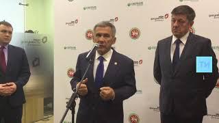 Президент Татарстана открыл в Казани Дом предпринимателя