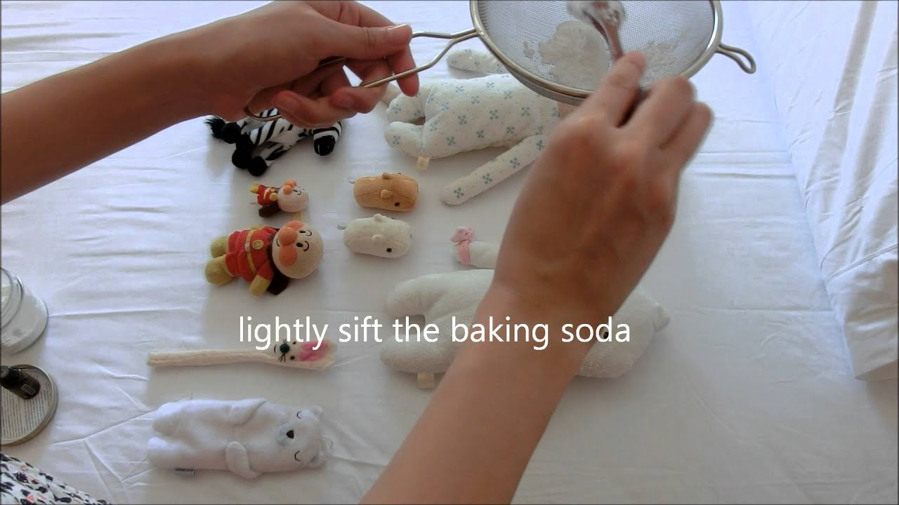 how to clean soft toys naturally youtube