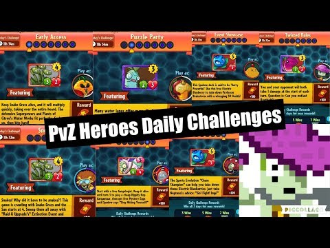 [PvZH] Daily Challenges (27 March - 2 April)