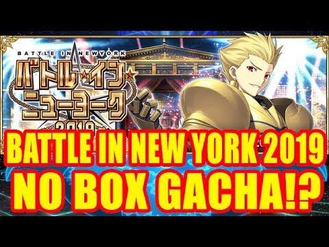 BATTLE IN NEW YORK 2019 EVENT!!! No Box Gacha!? 【Fate/Grand Order】