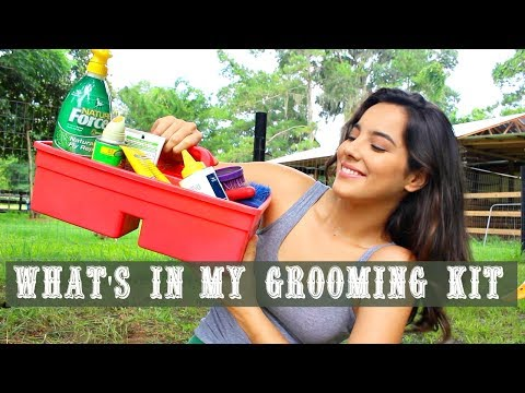 What's In My Grooming Kit | ValentinaCowgirl