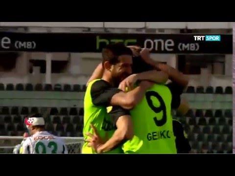 Denizlispor 2-0 Giresunspor PTT 1.Lig Maç Özeti 23.Hafta (27.02.2016)