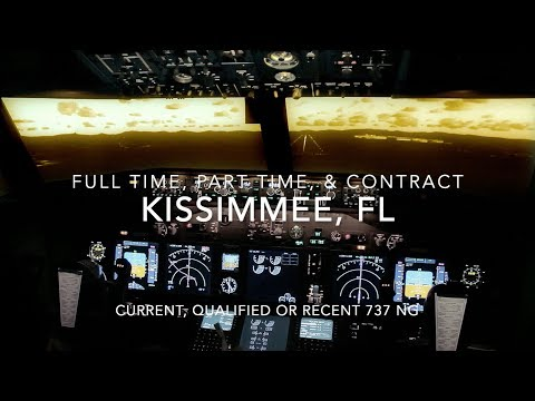 Urgently Seeking B737 NG Instructors  Full Time, Part Time and Contract.