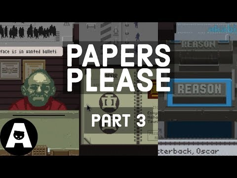 LIRIK playing Papers, Please - Part 3
