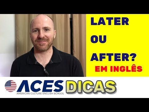 O que significa after that em ingles