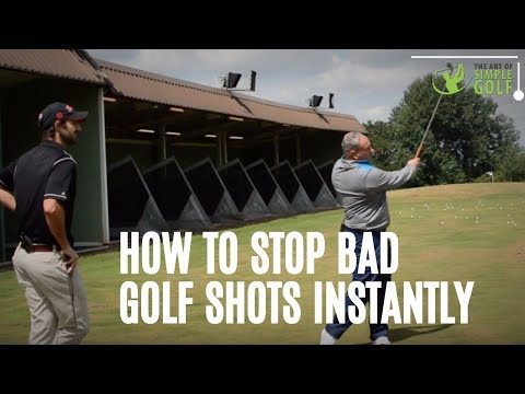 How To Stop Bad Golf Shots | Simple Tips To Play With Plan B