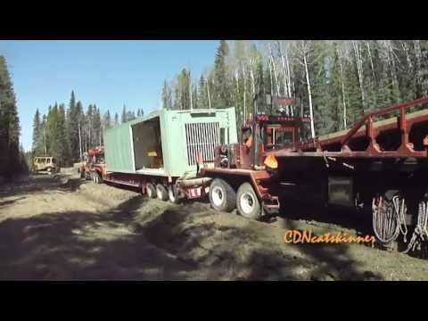 Rig Move During Spring Break-up
