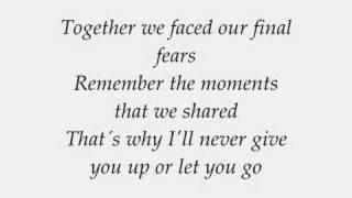 Blue - Curtain Falls with lyrics