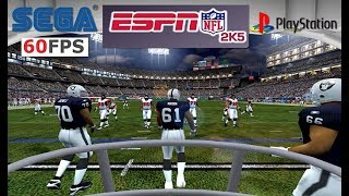 NFL 2k5 (2k17) First Person Football mode 60fps 16:9 1440p on PC PCSX2 (PS2 emu)