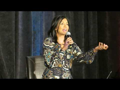 Karen David talks Colin O'Donoghue and Josh Dallas