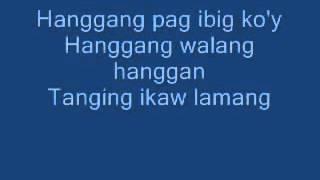 Hanggang by Wency Cornejo with Lyrics YouTube